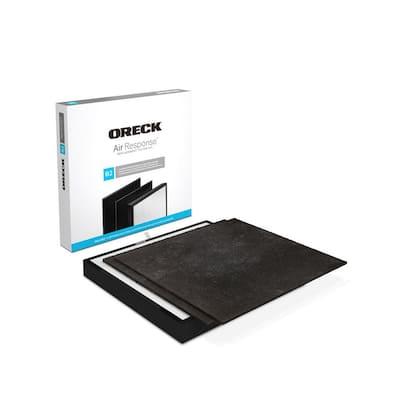 Certified HEPA Media and Odor Control Replacement Filter Kit Type B2 for Air Response Medium (WK16001)