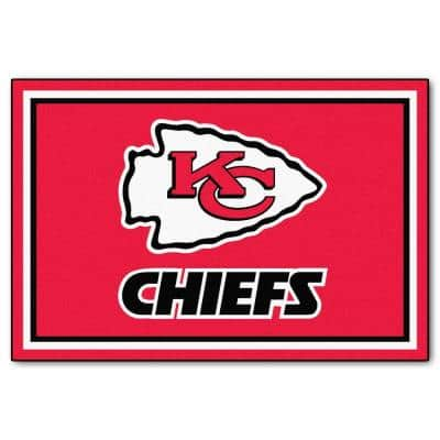 Kansas City Chiefs 5 ft. x 8 ft. Area Rug