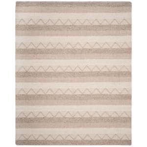 Natura Beige 8 ft. x 10 ft. Striped Area Rug