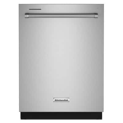 24 in. PrintShield Stainless Steel Top Control Built-In Tall Tub Dishwasher with Stainless Tub, 39 DBA
