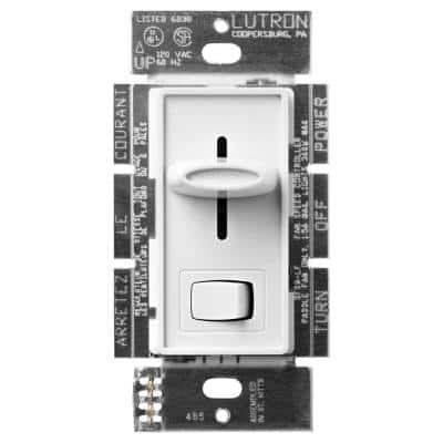 Skylark 3 Speed Fan Control/Light Switch, for Incandescent and Halogen Bulbs, Single Pole, White