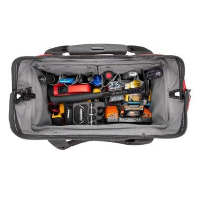 18 in. 18 Pocket Rolling Tool Bag