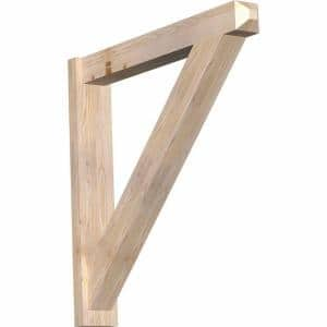 6 in. x 36 in. x 36 in. Traditional Craftsman Smooth Douglas Fir Outlooker