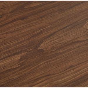 Dark Walnut 6 in. W x 36 in. L Luxury Vinyl Plank Flooring (24 sq. ft. / case)