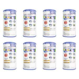 4.25 in. Dia Type A Pool Replacement Filter Cartridge (8-Pack)