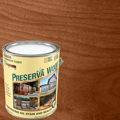 1 gal. Oil-Based Sequoia Penetrating Exterior Stain and Sealer