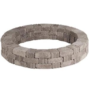 RumbleStone 59 in. x 10.5 in. Tree Ring Kit in Greystone