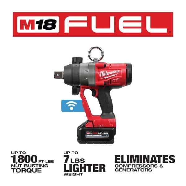 """M18 FUEL 1/"""" High Torque Impact Wrench Kit Milwaukee Electric Tools 2867-22"""
