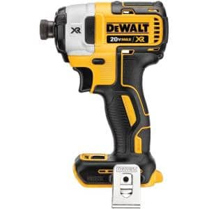 20-Volt MAX XR Cordless Brushless 3-Speed 1/4 in. Impact Driver (Tool-Only)