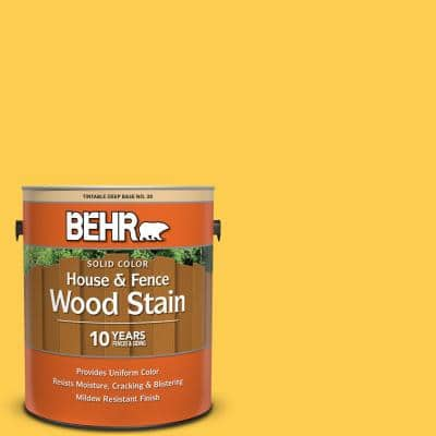 Behr 1 Gal S G 320 Atomic Tangerine Solid Color House And Fence Exterior Wood Stain 03001 The Home Depot