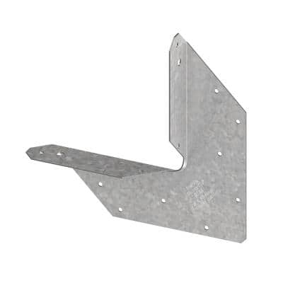 RTA 18-Gauge Galvanized Rigid Tie Angle for 4x Nominal Joist/Post