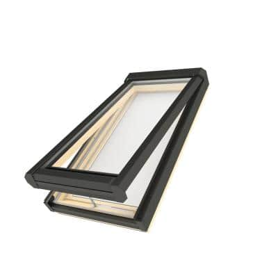 FV 22-1/2 in. x 70 in. Rough Opening, Manual Venting Deck-Mounted Skylight with Laminated Low-E Glass