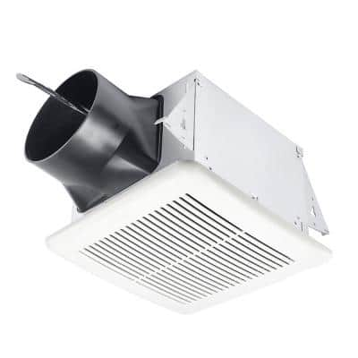 Elite Series 110 CFM Ceiling Bathroom Exhaust Fan with Adjustable Speeds and Delay Timer, ENERGY STAR
