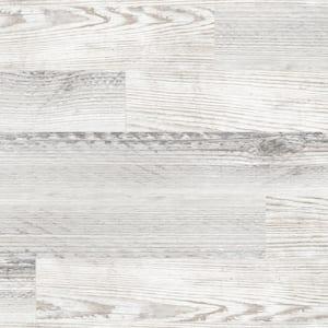 Village White 8 in. x 26 in. Glazed Porcelain Antislip Floor Tile (12.92 sq. ft./case)