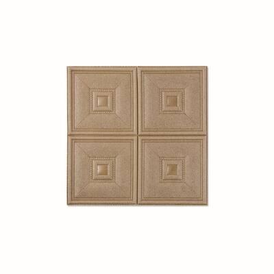 4SquareBlock Copper Vinyl Peelable Roll (Covers 54 sq. ft.)