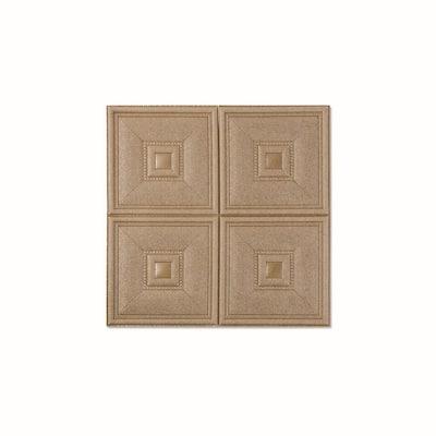 4SquareBlock Copper Vinyl Peelable Roll (Covers 108 sq. ft.)