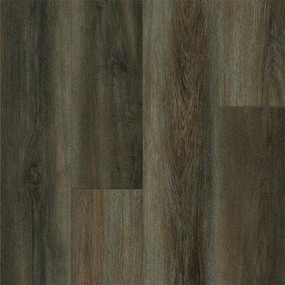 Rigid Core Empower 9 in. W x 72 in. L Oslo Brown Waterproof Click Lock Vinyl Plank Flooring (18.19 sq. ft./carton)