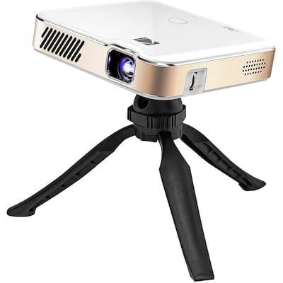 Luma 450 1920 x 1080 Portable Full HD Smart Projector w/200 Lumens Wi-Fi, Bluetooth, Mini Home Theater - Up to 150 in.