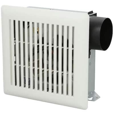 50 CFM Ceiling/Wall Mount Bathroom Exhaust Fan