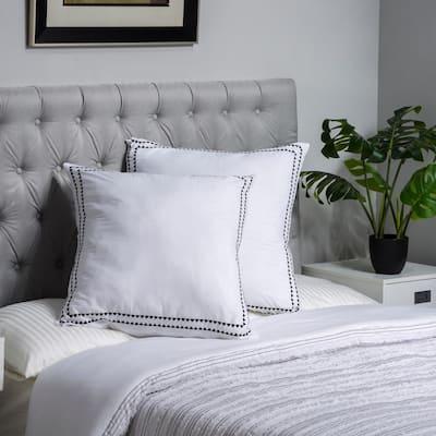 Rhythmic Melody Cotton Pillowcase (Set of 2)