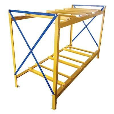 3 Wide 2 High Drum Storage Rack