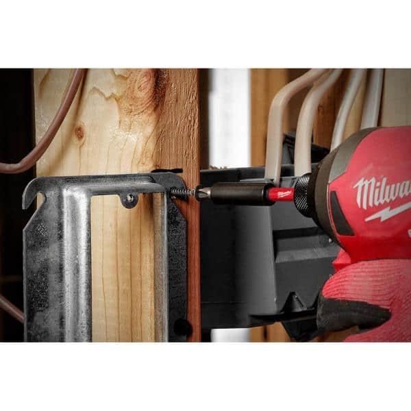 Milwaukee Tool SHOCKWAVE Impact Duty Steel Drill and Driver Bit Set 145-Piece