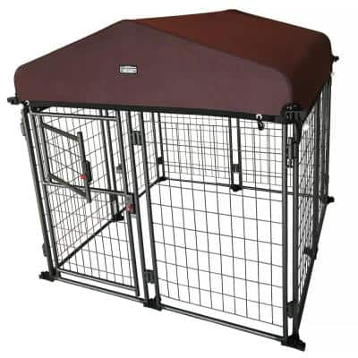 4 ft. x 4 ft. x 4-1/2 ft. Expandable Kennel