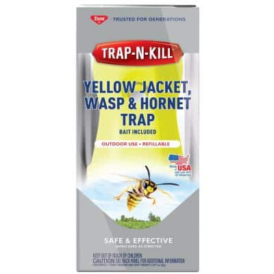 Trap-N-Kill Yellow Jacket Wasp and Hornet Trap