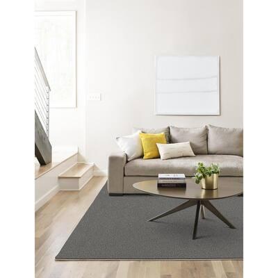 Carpet Diem - Color Nightfall Residential 9 in. x 36 in. Peel and Stick Carpet Tile (8 Tiles / Case)