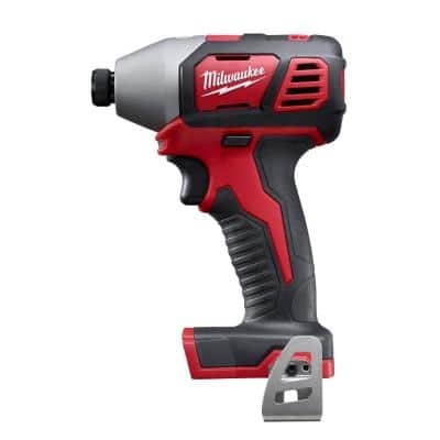 M18 18-Volt Lithium-Ion Cordless 1/4 in. Hex Impact Driver (Tool-Only)