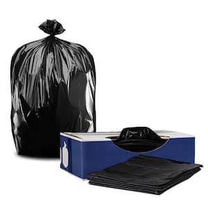 56 Gal. Black Glutton Trash Bags (Case of 100)