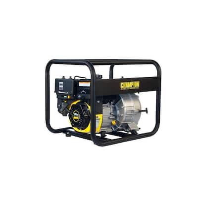 3 in. Gas-Powered Semi-Trash Water Transfer Pump