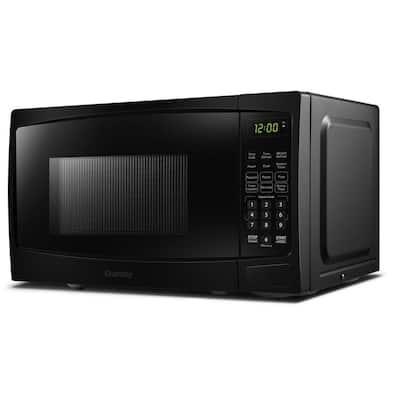 1.1 cu. ft. Countertop Microwave in Black