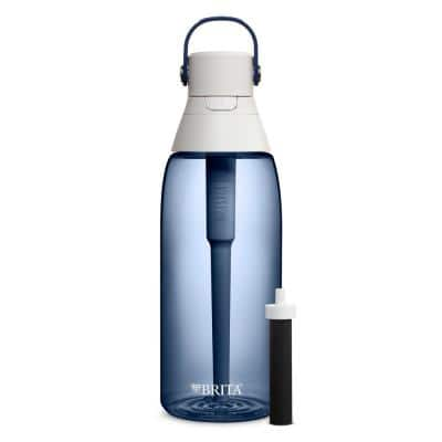 Premium 36 oz. BPA Free Night Sky Hard Sided Filtering Water Bottle