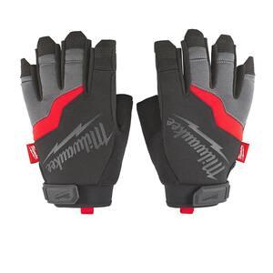 Large Fingerless Work Gloves