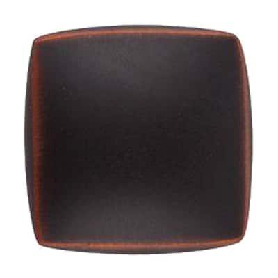 1-1/4 in. Satin Copper Square Cabinet Knob