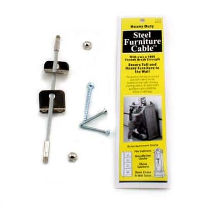 7 in. Steel Furniture Cable (12-Pack)