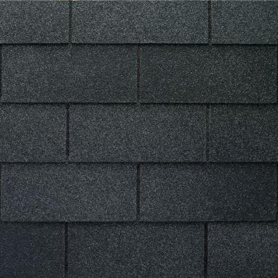Royal Sovereign Charcoal Algae Resistant 3-Tab Roofing Shingles (33.33 sq. ft. per. Bundle) (26-pieces)