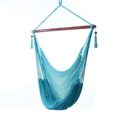 Caribbean 4 ft. X-Large Hammock Chair in Sky Blue