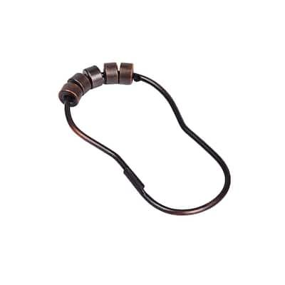 Roller Shower Hook in Oil Rubbed Bronze