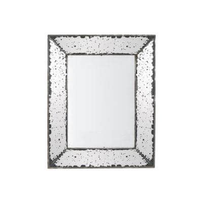 Small Rectangle Antiqued Mirror Antiqued Mirror (1 in. H x 20.1 in. W)