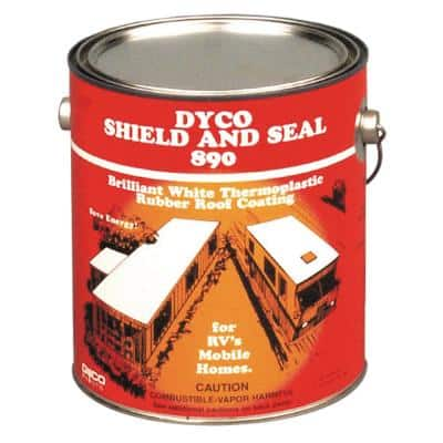 890 SHIELD and SEAL White - 1 Gal.