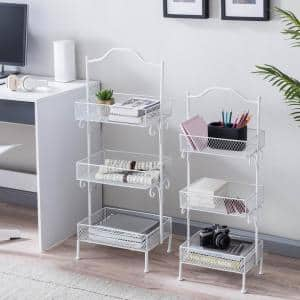 3 Tiered Metal Basket Stand (Set of 2)