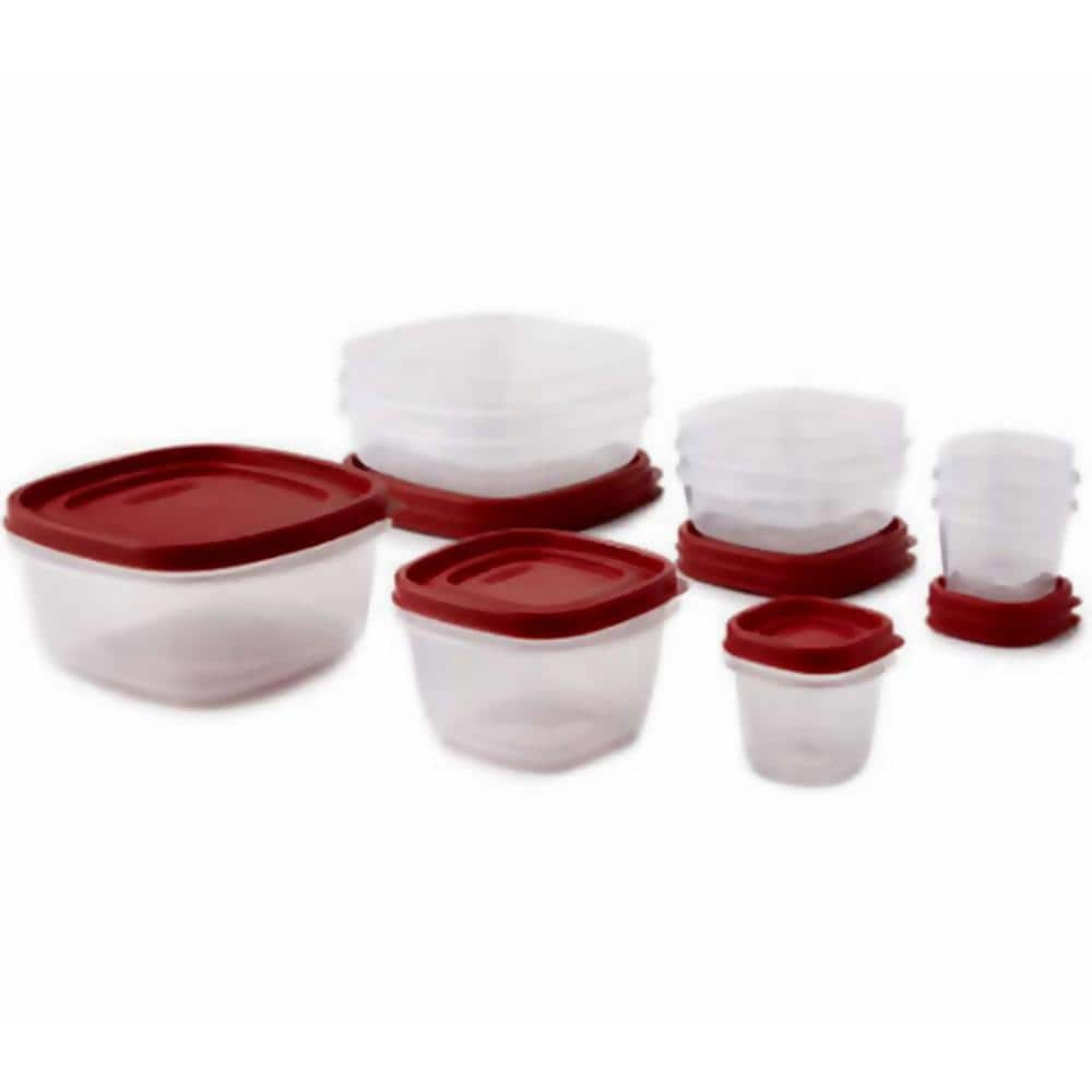 Easy Find Lids 18-Piece With Vents Food Storage Container Set