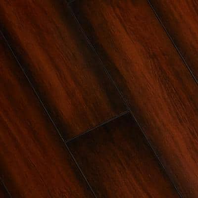 High Gloss Distressed Maple Sevilla 8 mm Thick x 5-5/8 in. W x 47-7/8 in. Length Laminate Flooring (748 sq. ft./pallet)