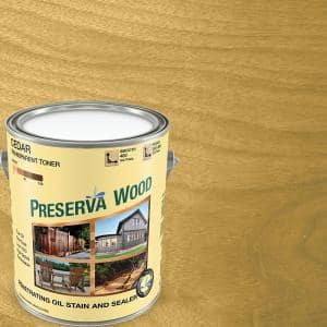 1 gal. Oil-Based Cedar Penetrating Exterior Stain and Sealer