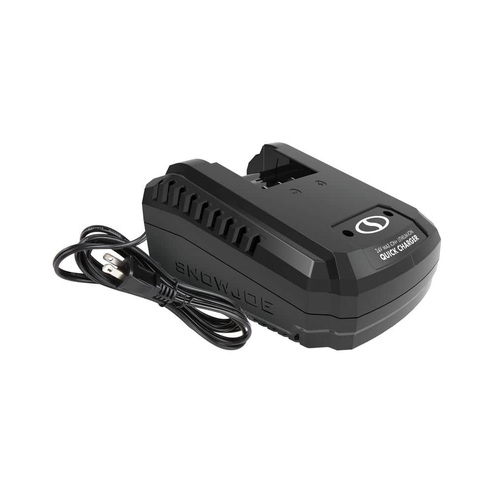 Snow Joe iON+ Quick Charge Dock for iBAT24 and 24VBAT Series Batteries