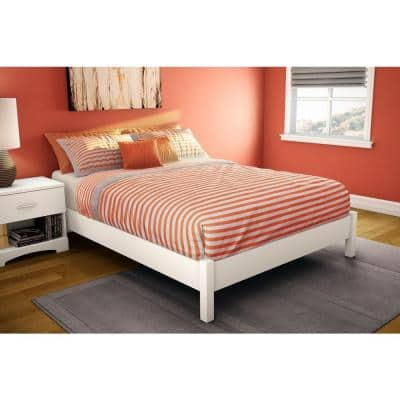 Step One Full-Size Platform Bed in Pure White