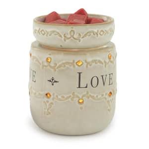 8.8 in. Live, Laugh, Love Illumination Fragrance Warmer
