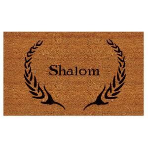 Shalom 24 in. x 36 in. Door Mat
